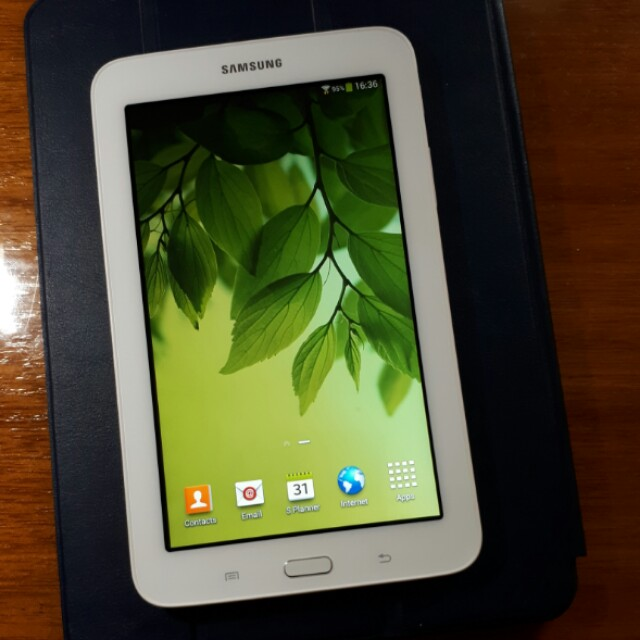 Samsung Galaxy Tab 3 Lite White Colour Pre Owned On Carousell