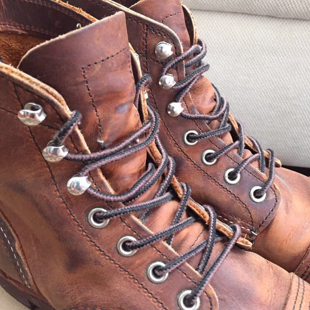 red wing shoes iron