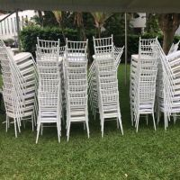 White Tiffany Chairs For Rent, Bulletin Board, Looking For ...