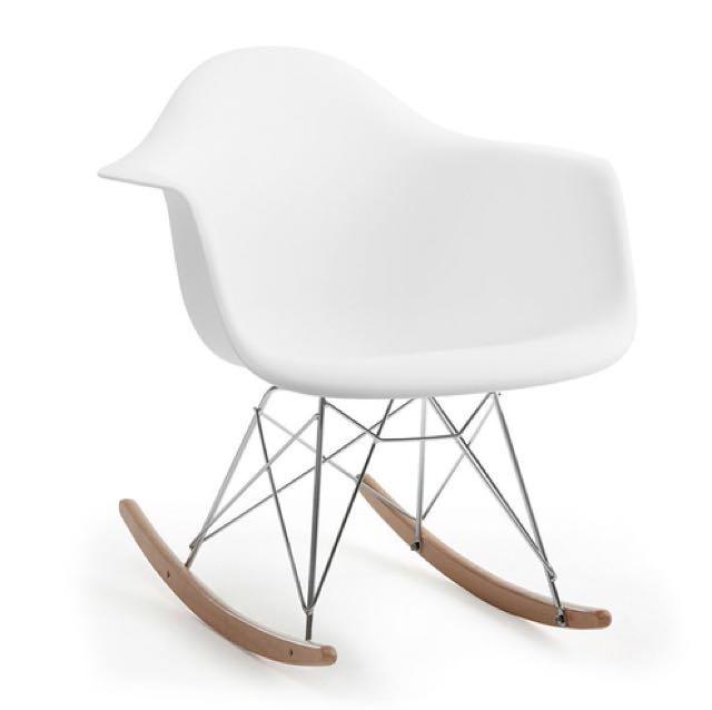 ikea white rocking chair best dxracer structube eiffel home furniture on carousell