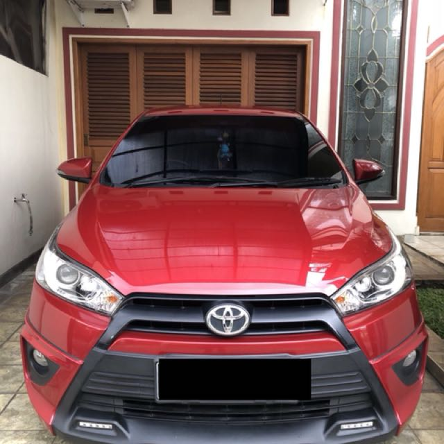 toyota yaris trd warna merah perbedaan new agya g dan at 2015 red cars for sale on carousell