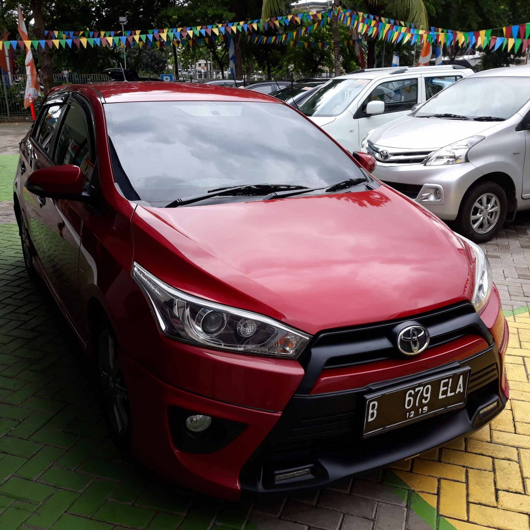 toyota yaris trd warna merah pajak grand new veloz s 1 5 at 2014 metalik cars for sale on carousell