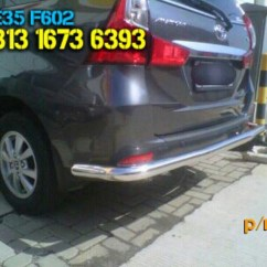 Grand New Avanza Veloz 2018 Harga Toyota Yaris Trd Matic Pengaman Belakang All Auto Accessories On Carousell