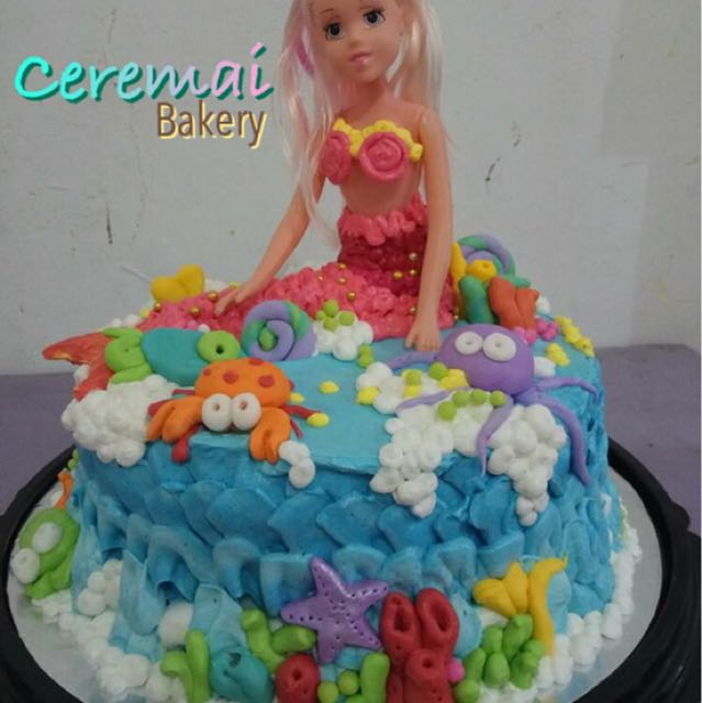 Made By Request Cake Birthday Kue Ulang Tahun Ceremai Bakery