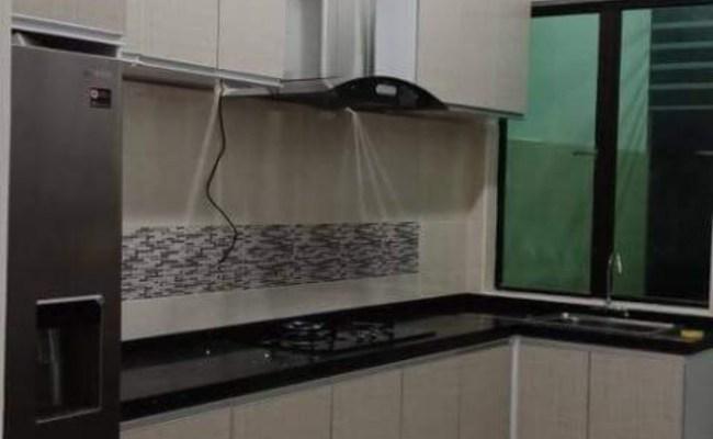 Kabinet Dapur Putih Melamine Cute766