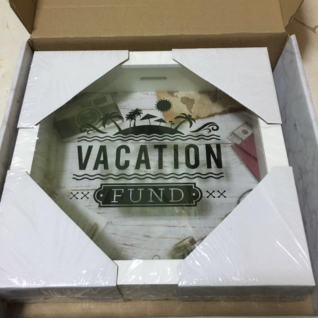 Klosh Vacation Fund Coin Bank Furniture Home Decor On Carousell