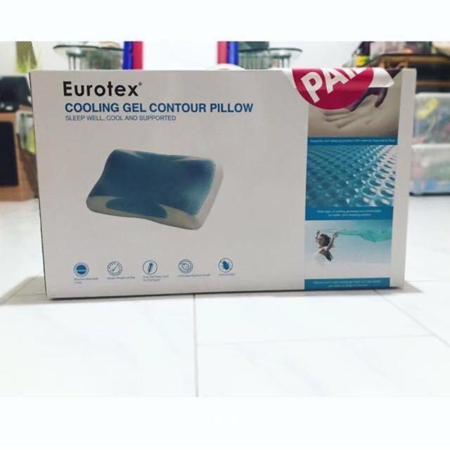 https www carousell sg p eurotex cooling gel contour pillow memory foam 151067721