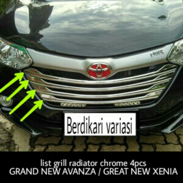 radiator grand new avanza keunggulan list grill great xenia auto accessories on carousell