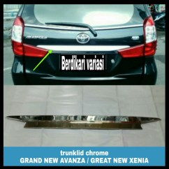 Trunk Lid Grand New Avanza Interior Agya Trd Trunklid List Bagasi Chrome Great Xenia Auto Accessories On Carousell