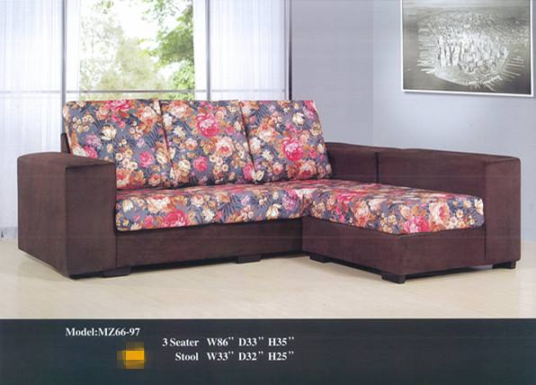 sofa bed malaysia murah foam inserts for sofas ansuran bulanan l shape model 6697 home furniture photo