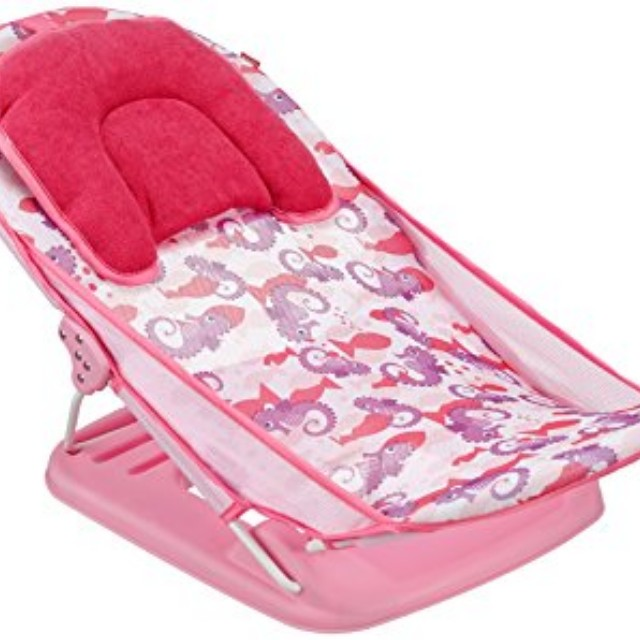 baby bath chair mothercare cow print office seat babies kids on carousell