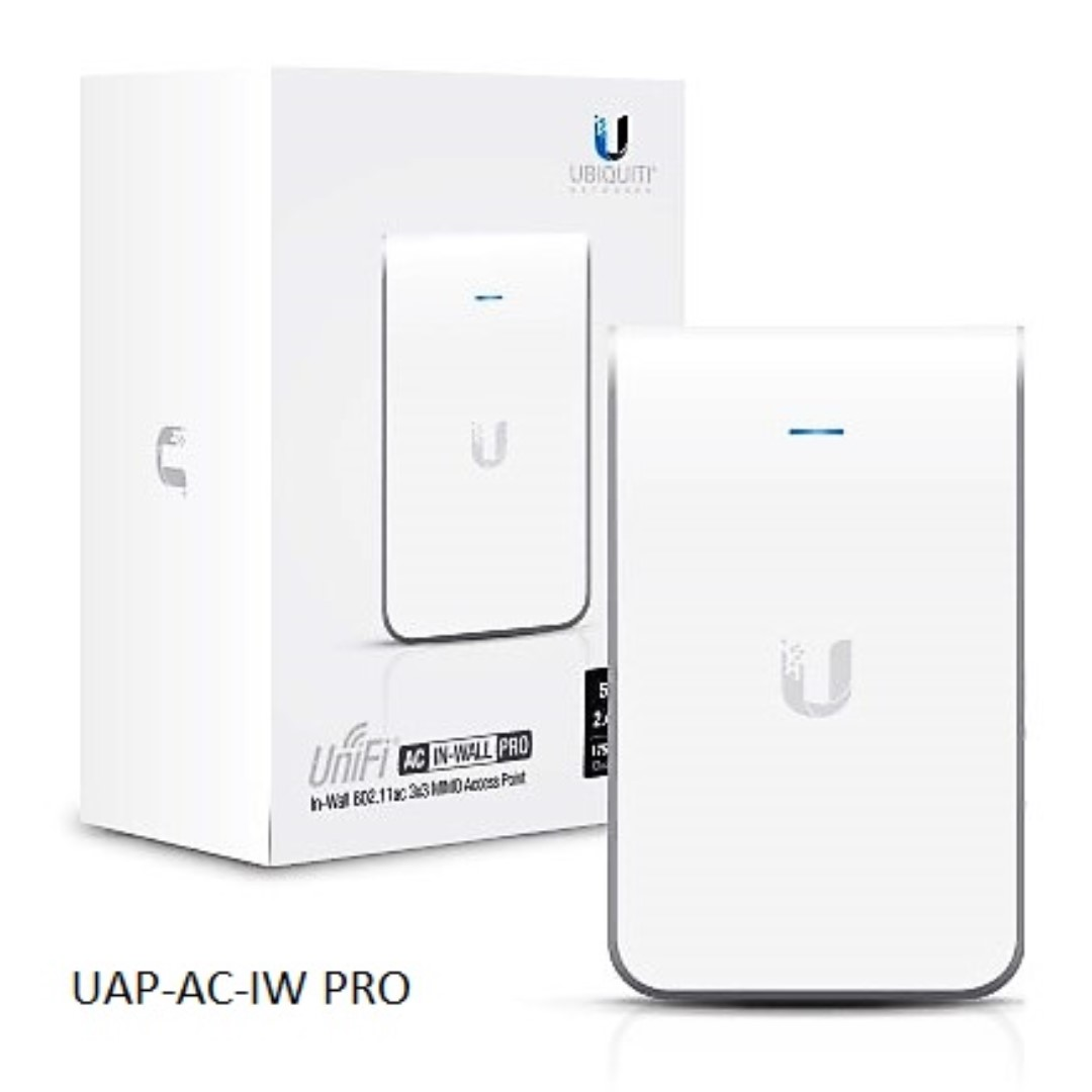 UAP-AC-IW-PRO Ubiquiti In-Wall Access Point 2.4GHz & 5GHz