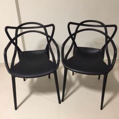 Design Chair Kartell Beach Rental Pair Of Masters Chairs Furniture Tables On Carousell