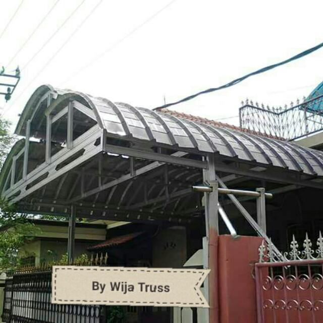 baja ringan lengkung canopy home furniture on carousell