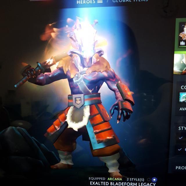 exalted bladeform legacy fully