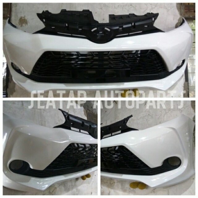 bemper depan grand new veloz all avanza 2019 2014 up auto accessories on carousell