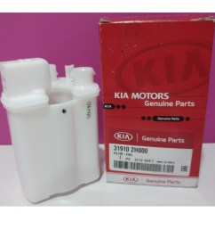 genuine fuel filter for kia cerato forte 2009 2011 model genuine part made in korea car accessories on carousell [ 1080 x 1080 Pixel ]