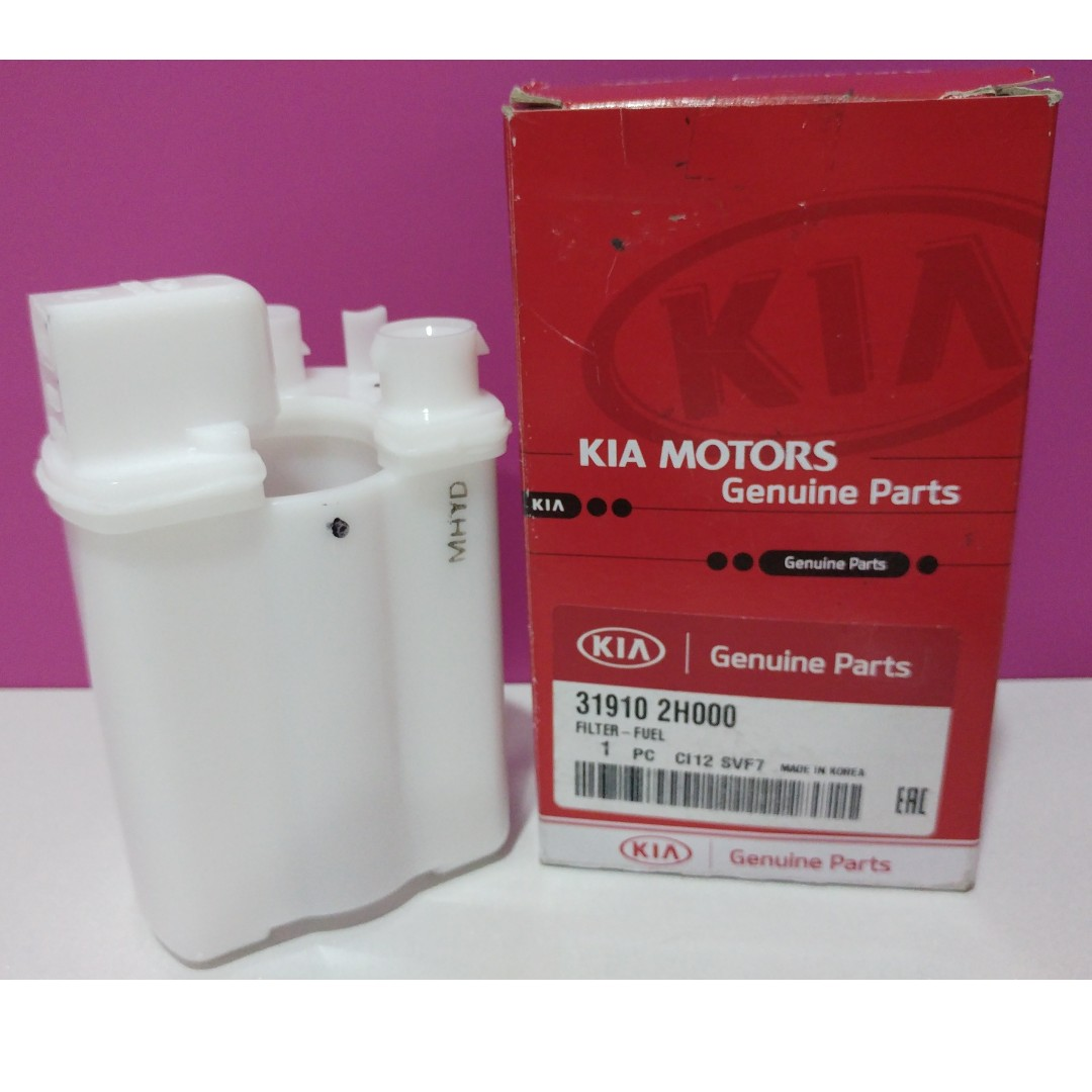 hight resolution of genuine fuel filter for kia cerato forte 2009 2011 model genuine part made in korea car accessories on carousell