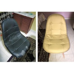 Office Chair Upholstery Repair Modern Leather Swivel Lounge Dinning Stool Home Services Others On Carousell