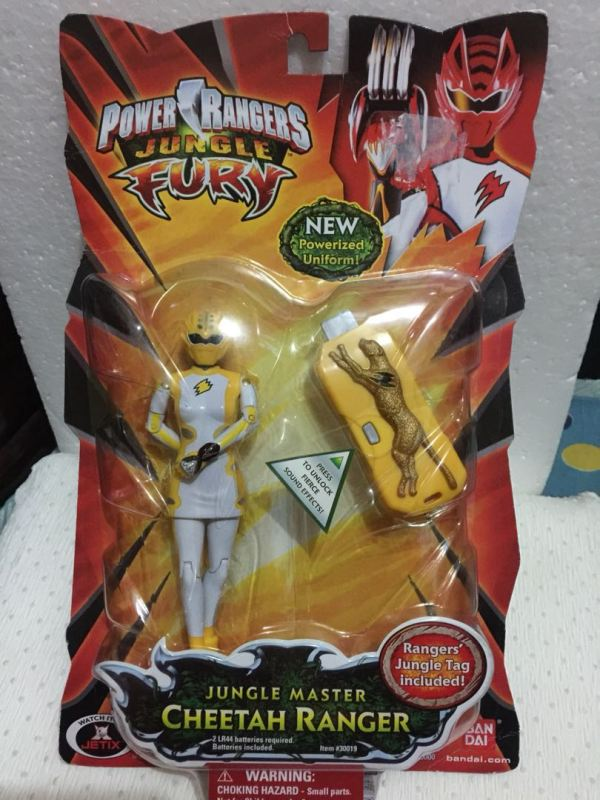 Power Ranger Jungle Fury Toys & Games