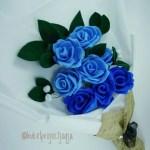 Buket Bunga Mawar Desain Kerajinan Tangan Karya Seni Di Carousell