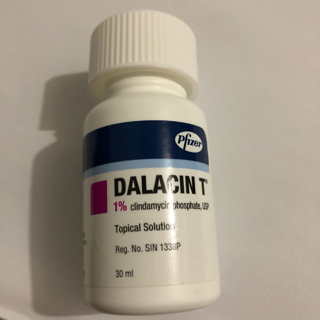 Dalacin T solution acne Health & Beauty Skin Bath ...