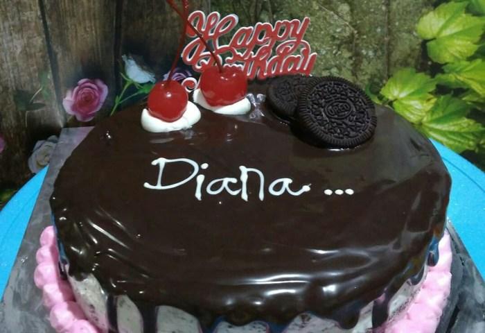Coklat Bday Cake Food Drinks Baked Goods On Carousell