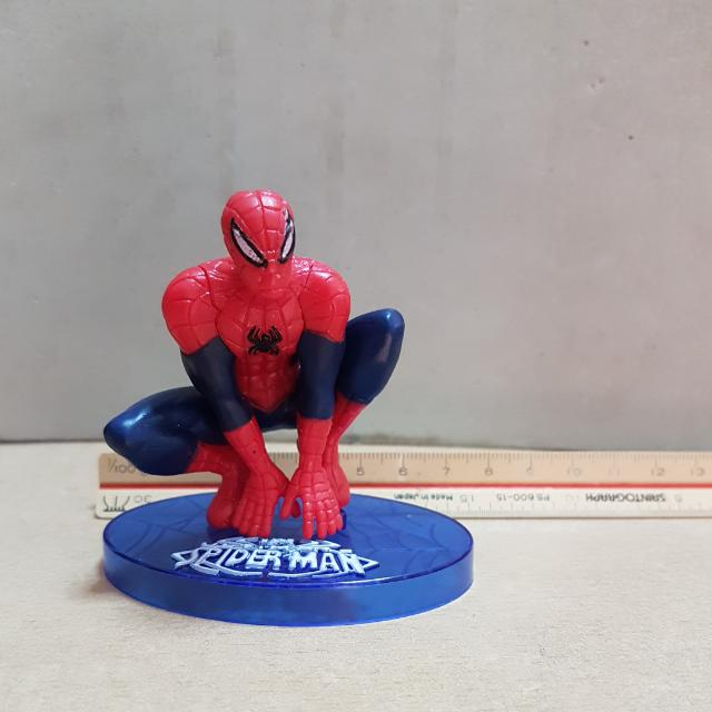 Spiderman Cake Topper Figurine Everything Else On Carousell