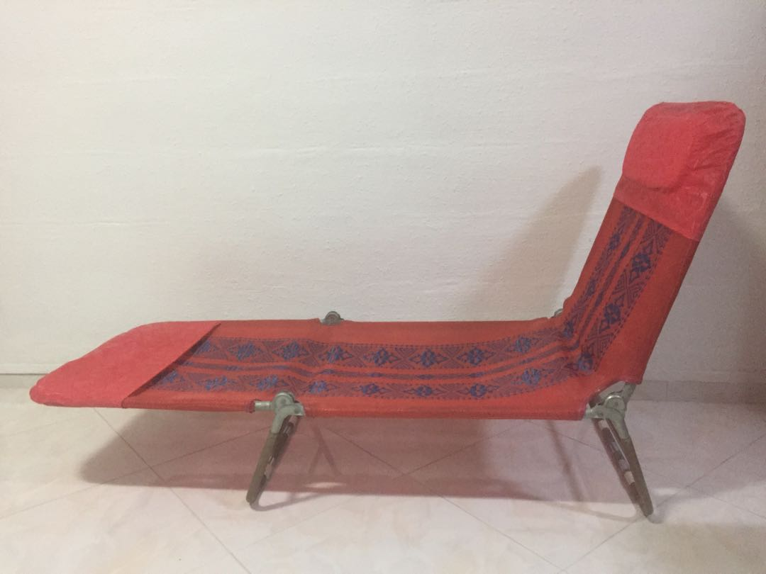 Folding Lounge Chair Vintage Folding Lounge Chair