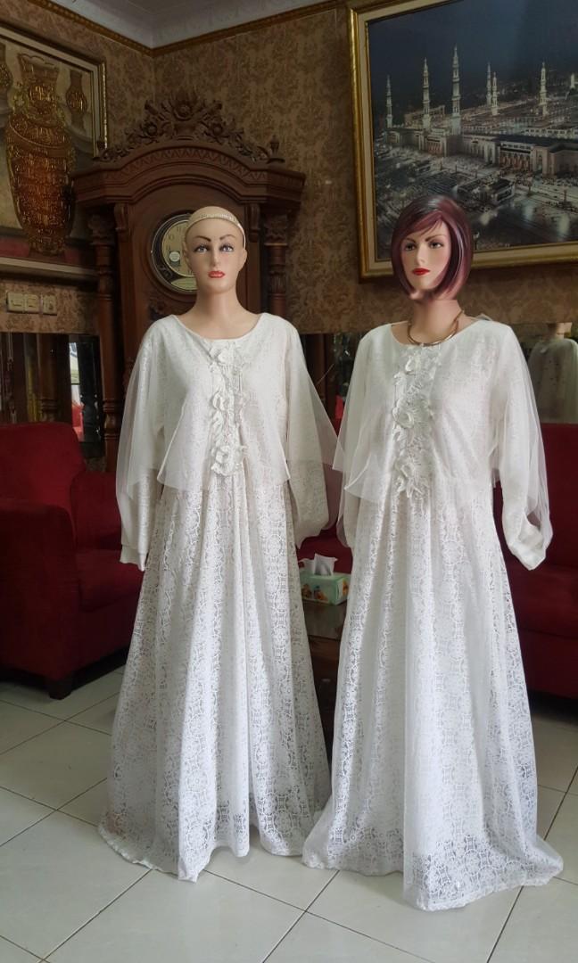 Gamis Putih Mewah : gamis, putih, mewah, Gamis, Putih, Burkat, Kaftan, Mewah, L/xl/fit, Fesyen, Wanita,, Muslim, Fashion, Carousell