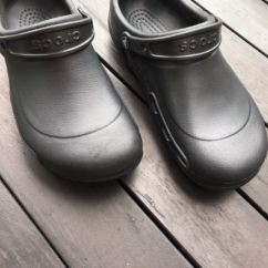 Crocs Kitchen Shoes Stove Backsplash Men S Fashion Footwear On Carousell