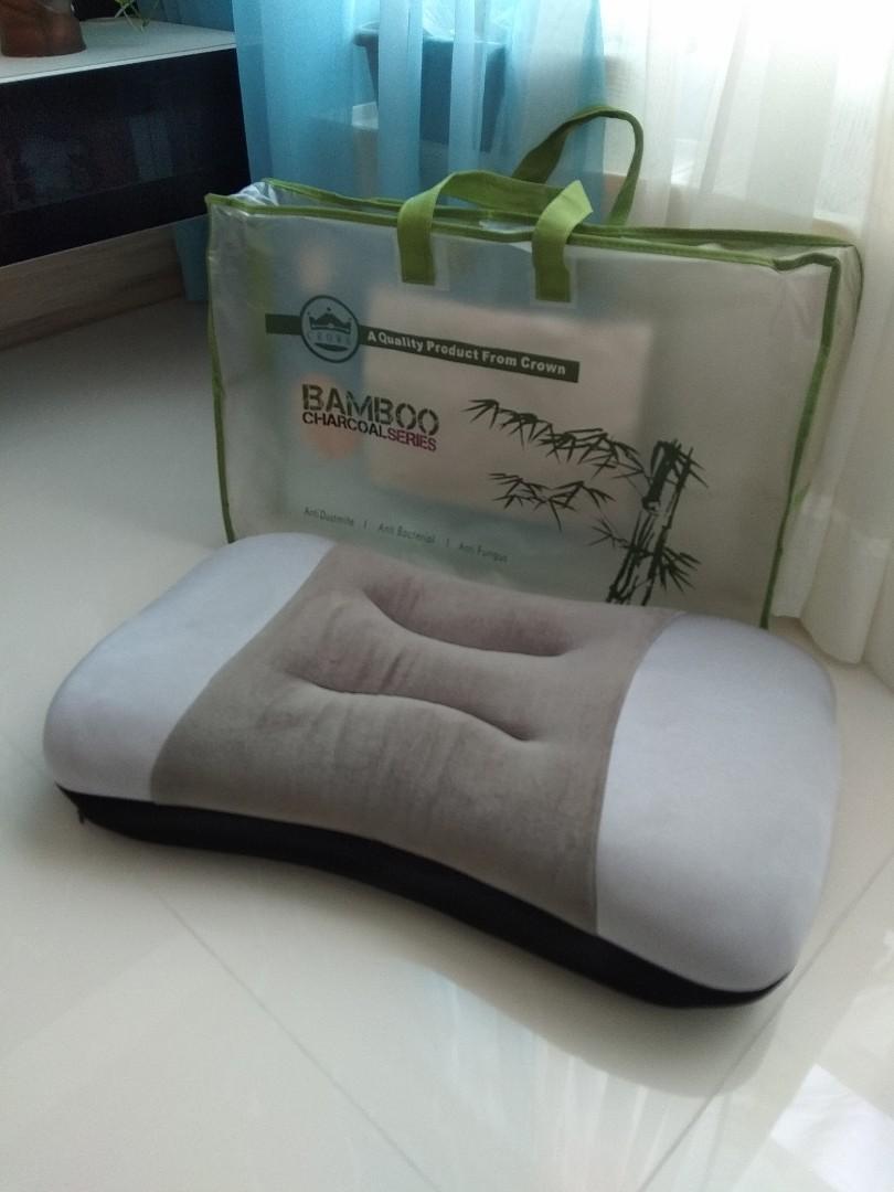 bamboo charcoal memory pillow
