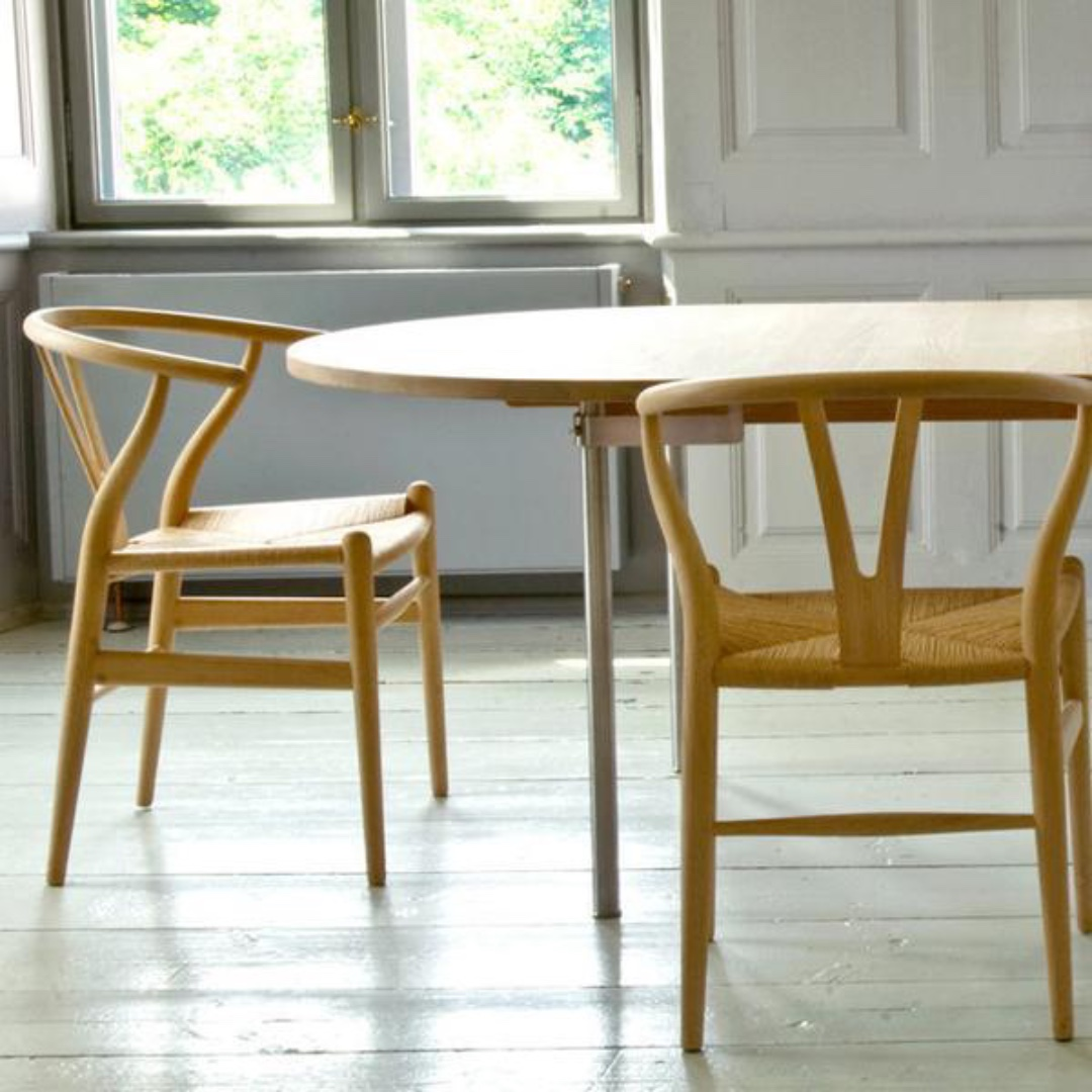Wishbone Chairs Pair Of Beautiful Wishbone Chairs Iconic Danish Design