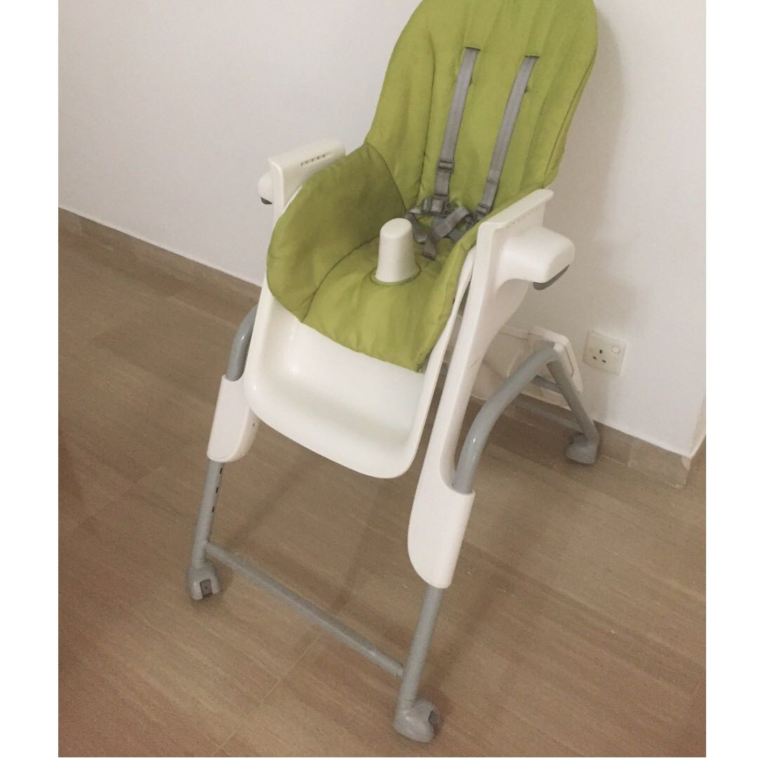 Chair On Wheels Reclinable High Chair On Wheels