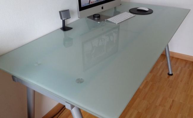 Ikea Glass Table Top Furniture Tables Chairs On Carousell