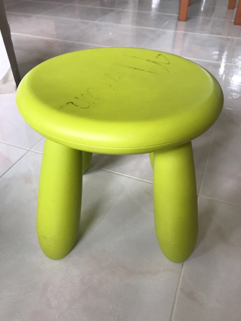 Lime Green Chairs Ikea Mammut Children S Stool Lime Green