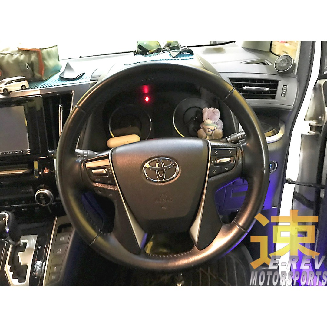 all new vellfire 2015 interior camry hybrid toyota alphard 2018 model carbon fibre steering wheel photo