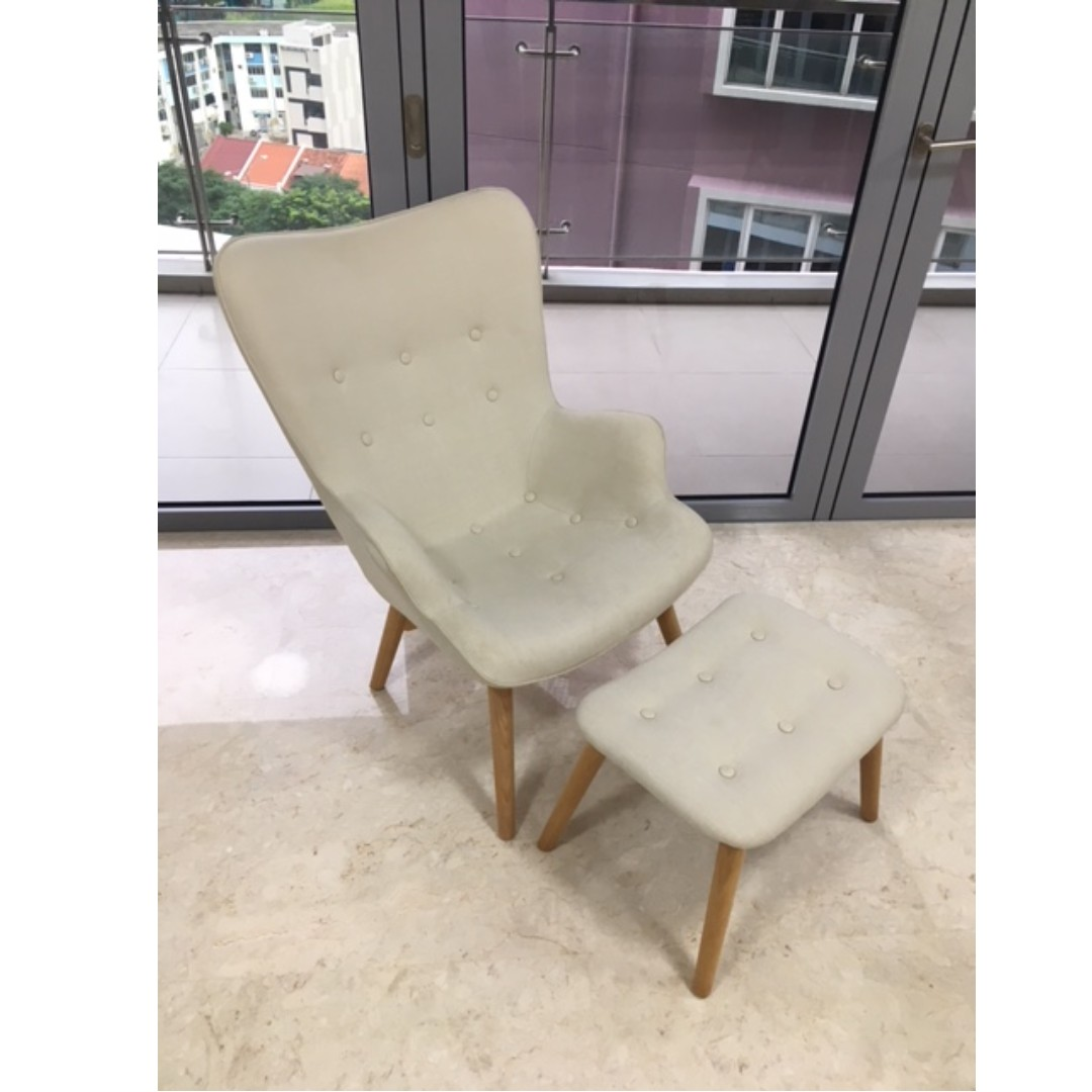 Chairs With Ottoman Brandy Lounger Lounge Chair Ottoman