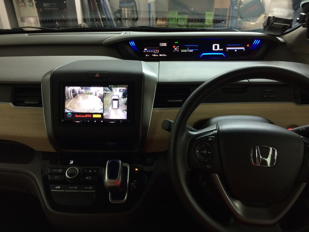 hight resolution of honda freed 2018 installed super hd night vision 360 all view camera car accessories accessories on carousell