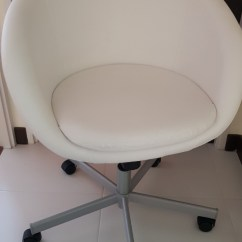 Skruvsta Swivel Chair Zebra Print Arm Ikea Idhult White Furniture Tables Chairs Share This Listing