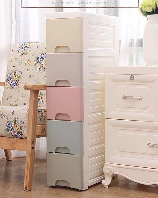 ** 全新 五層櫃 /五桶櫃/ 五層膠箱 /玩具,BB衫,家居用品 什物 收納箱 膠箱 整理 分類, 傢俬&家居, 傢俬 - Carousell