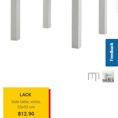 Lack Sofa Table As Desk Frame Blueprints Ikea Furniture Tables Chairs On Carousell Share This Listing