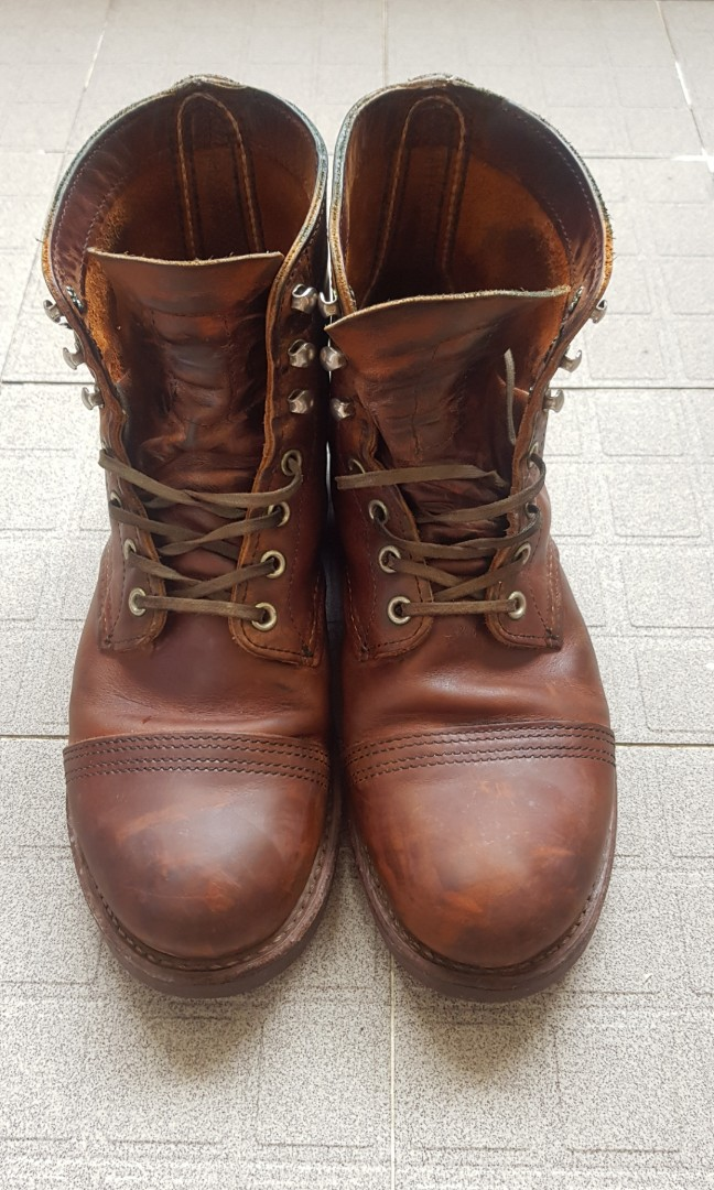 red wing boots iron