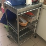 Used Stainless Steel Kitchen Trolley Ikea Grundtal Furniture Others On Carousell