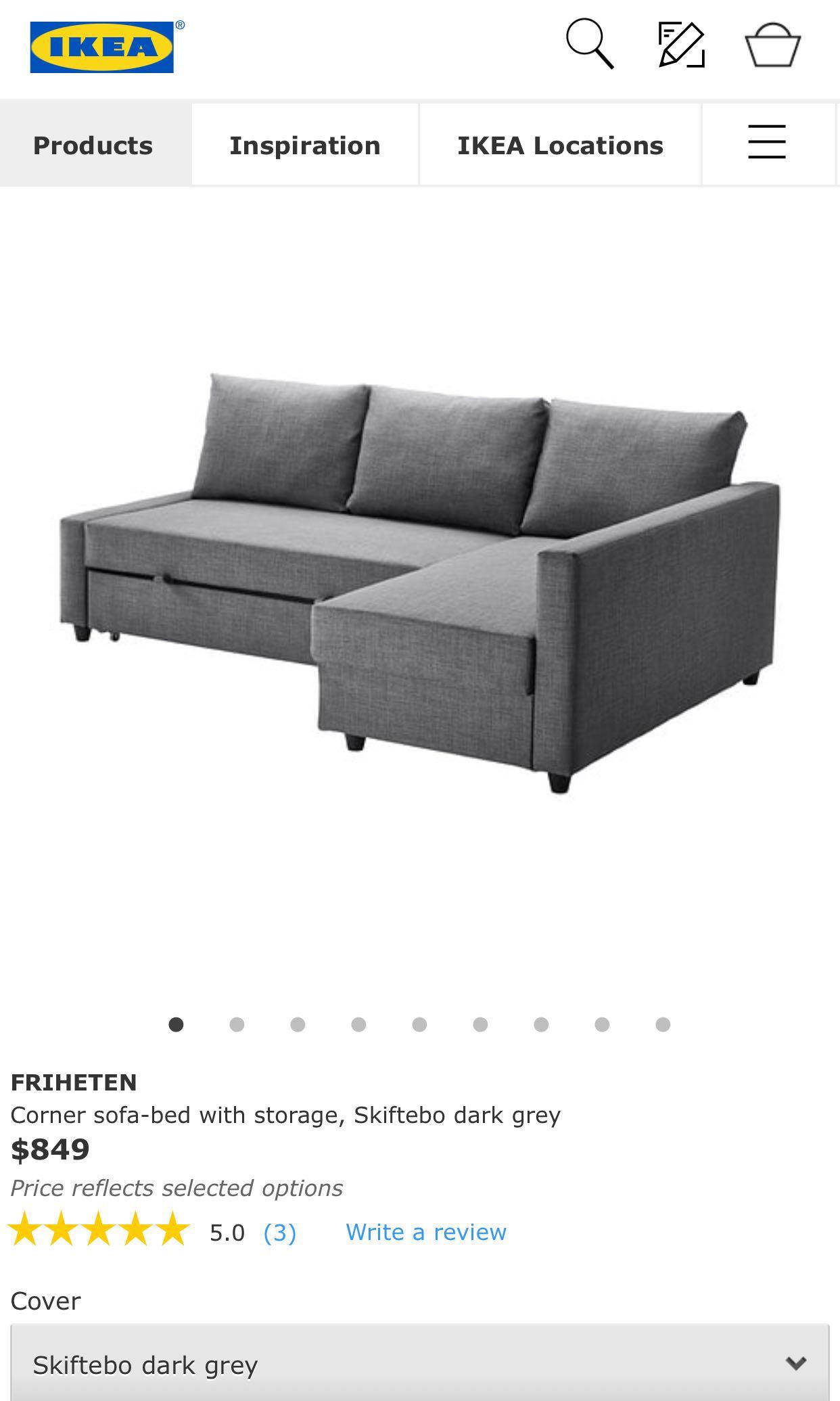 Slaapbank Ikea Friheten.Canape Ikea Friheten Orange Friheten Simple Ikea Friheten Living