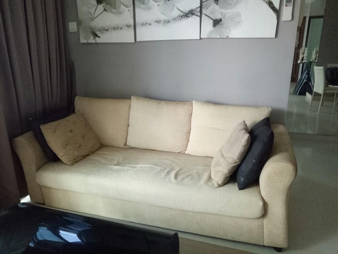sofa fabric material cream color