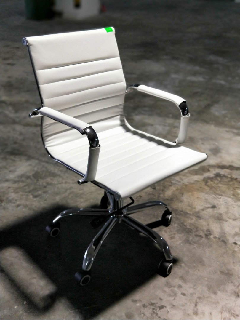 Low Back Office Chair Vexter Designer Replica Low Back Office Chair In White