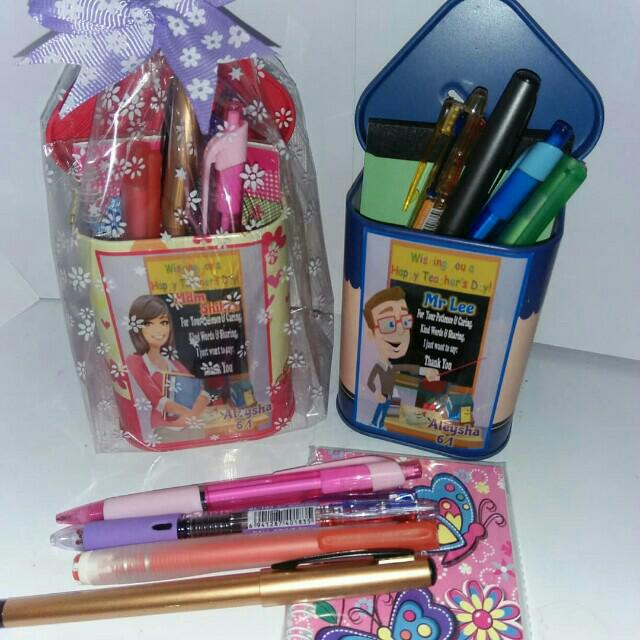 personalised teachers day stationery