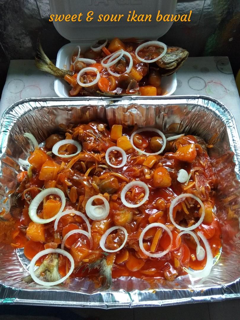 Resepi Ikan Bawal Masak Masam Manis ~ Resep Masakan Khas
