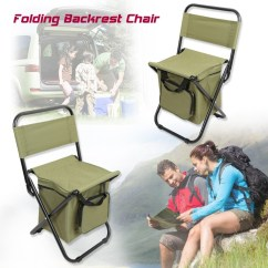 Fishing Chair Singapore Covers For Sofa And Loveseat Folding Backrest Portable Ice Thermos Bag Stool Share This Listing